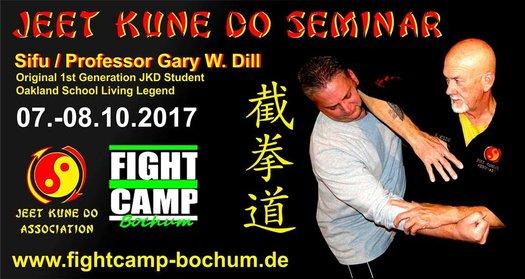 Sifu Gary Dill seminar – 7 & 8 Oktober